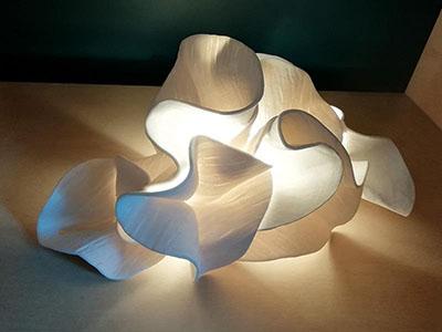 """Exposition """"Page Blanche"""" Du 11 Septembre au 15 Novembre Les artisans d'art s'approprient le blanc, symbole de la pureté, la sérénité, la fraîcheur, 1"""